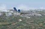F-18 over Corsica