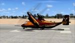 Virtavia- MV22B Osprey, flying at KBVG Vandenberg AFB