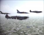 L-39ZA, C and Spitfires