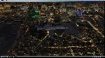 LearJet 45 over Las Vegas