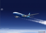 B777 Over the Atlantic