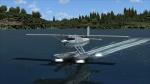 Pilatus PC-7 Touchdown on Friday Harbor, WA.