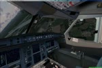 A380 Full Cockpit Landing