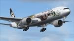 New Zealand B77W NZAA-KLAX-EGLL