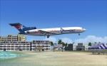 Amerijet Boeing 727 in St Maarten