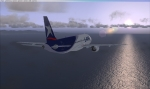 A320 heading towards malaga