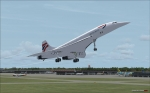 Concorde Bangkok take off