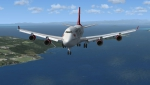 Virgin Atlantic 747-800 approach to Kasai Int