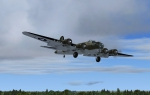 B-17 Flying Fortress final at EGSU