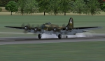 B-17 Flying Fortress Touchdown at EGSU