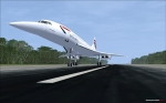 Concorde at Cook Islands