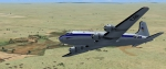 Douglas DC-4-1009, OO-CBI of Sabena flying from Lubumbashi to Harare