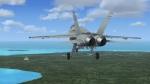 FA-18 Hornet on final at Darwin Australia