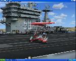 Landing on the Nimitz carrier