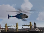 FSX OSI Helicopter in Docks