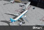 FSX 737 at gate
