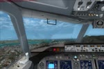 Landing at Regional Stos Dumont Airport RWY02R