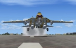 F-14 Tomcat Take Off EBLG