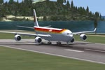 IBERIA AIRBUS A340 FLYING TO HAVANA