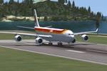 IBERIA AIRBUS A340 FLYING TO HAVANA