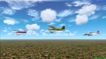 2 Bellanca's and 1 Britten Norman