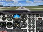 Landing Cessna 172 at KCVG