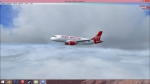 Virgin America flight from KSEA to KSFO
