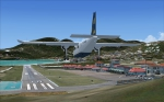 Landing at St Barth