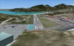 Overview of St Barthelemy Airport