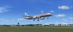 American Airlines Boeing 757-200 take off - Grantley Adams International Airport - Barbados (TBPB)...