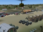 French military camp