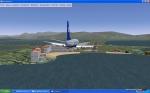 United 733 landing St Maarten