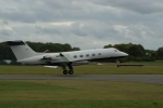 Gulfstream III - Departing Dunsfold Airport (EGTD) for France