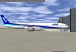 ANA Boeing 773 in Frankfurt am Main Airport