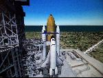 Nasa Space Shuttle ready for lift-off