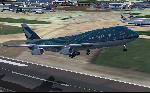 Cathay 747 departing EGLL