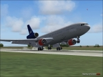 SAS MD11 Landing