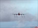 Quantas smokey takeoff