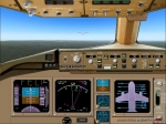 B777-200 Cockpit