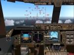 Quantas 747 Cockpit