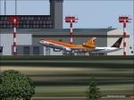 DC10 departing Tokyo Airport