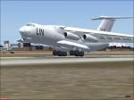 il76 UN Landing