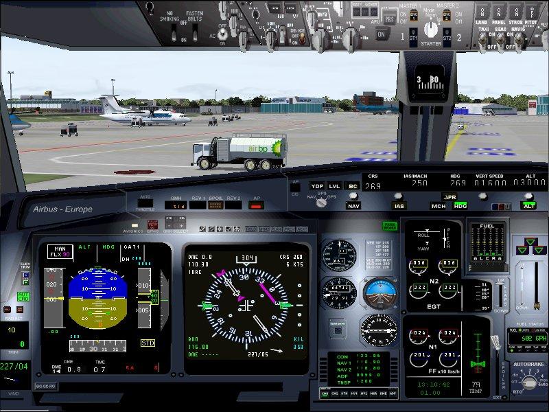 Flight Simulator Cockpit 107