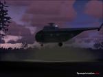 Sikorsky flying