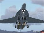 F-18 On takeoff
