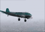 Buffalo DC-3 in flight