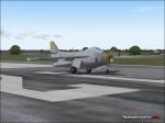 Saab Tunnan Landing