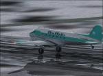 Buffalo DC-3 landing