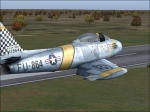 Flying over CYXU F-86