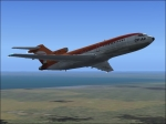 727 climing out of CYYZ